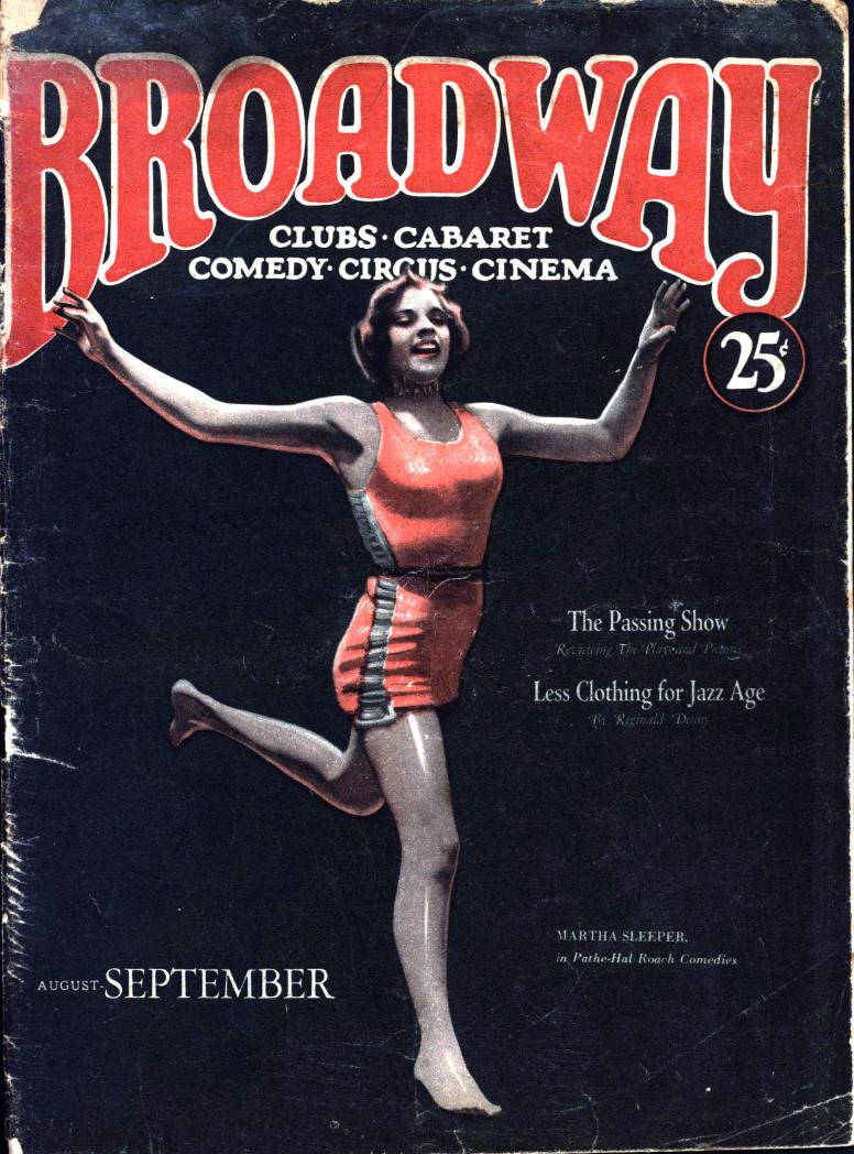 Broadway 1927 August-September vol 3 no 3