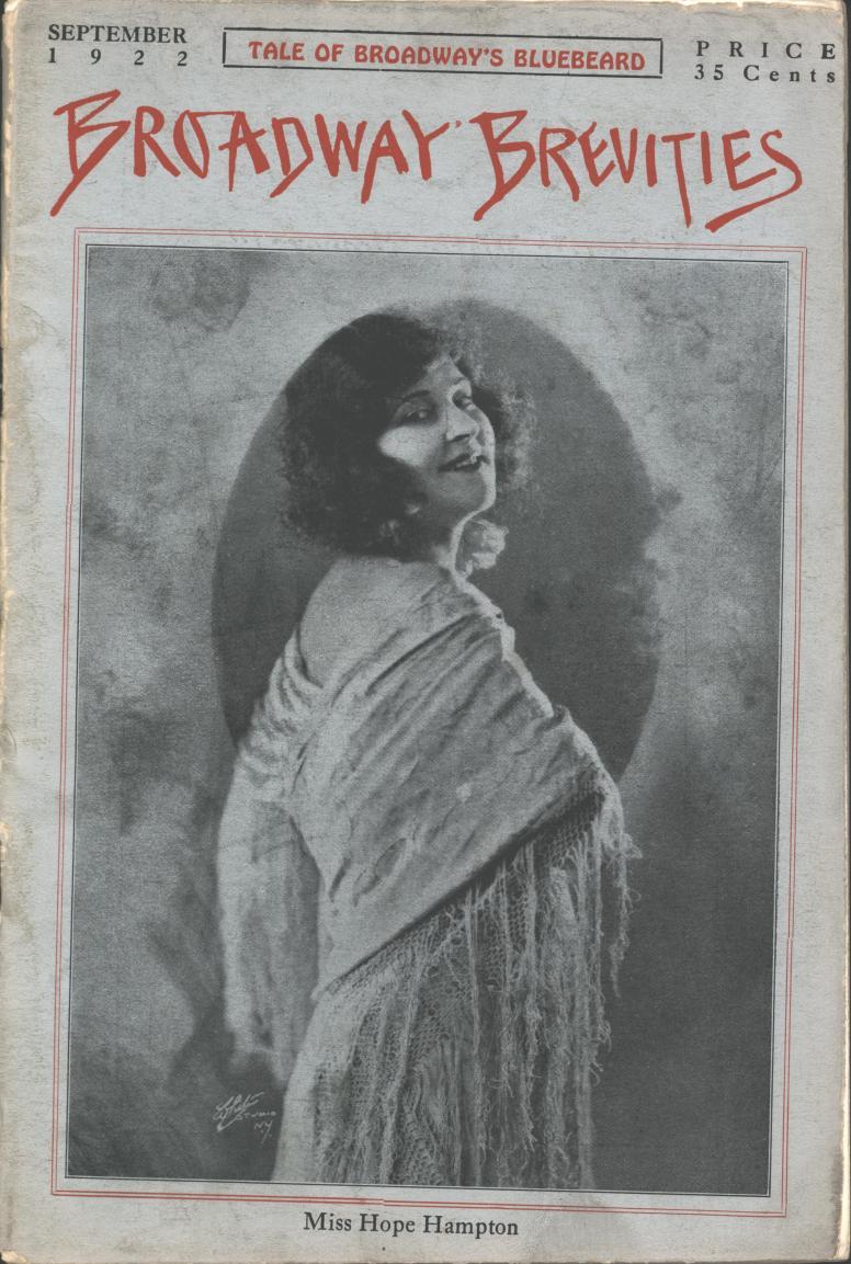 Broadway Brevities 1922 09