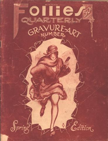 Burten's Follies Quarterly 1925 05 vol 1 no 2 fc
