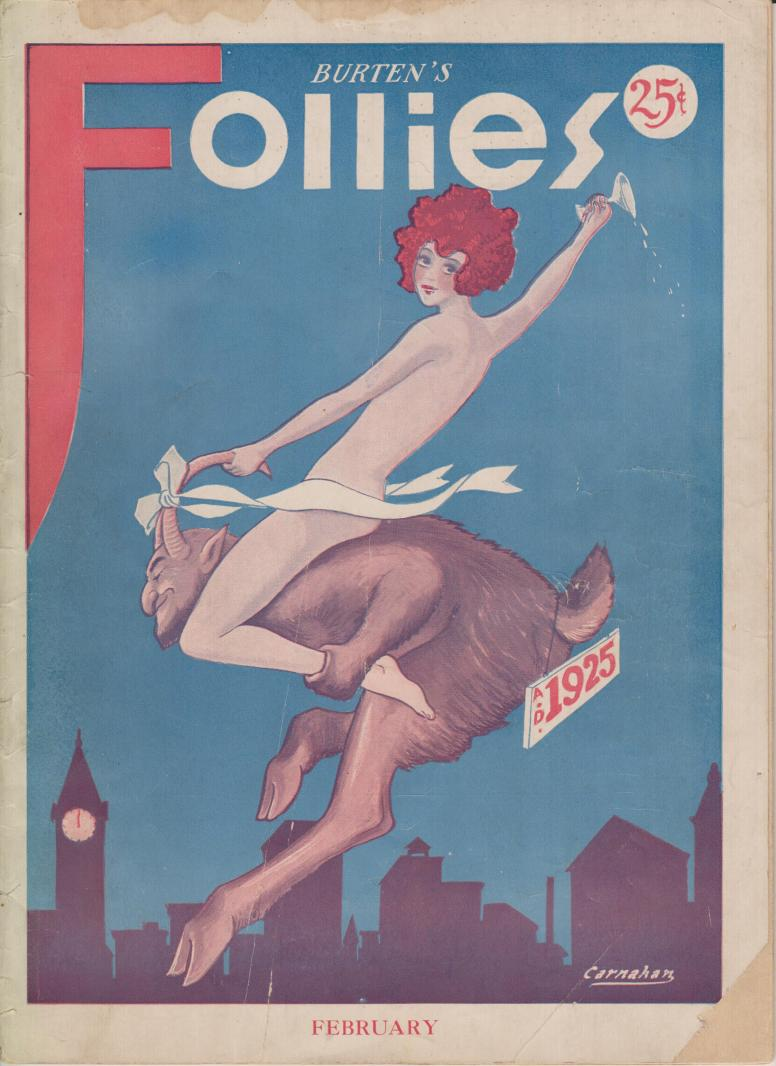 Burten's Follies vol III no 3 1925 Jan Feb