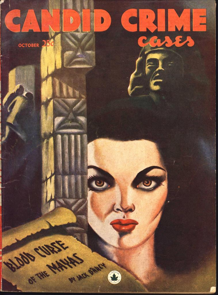 Candid Crime Cases 1948 Oct vol 1 no 2