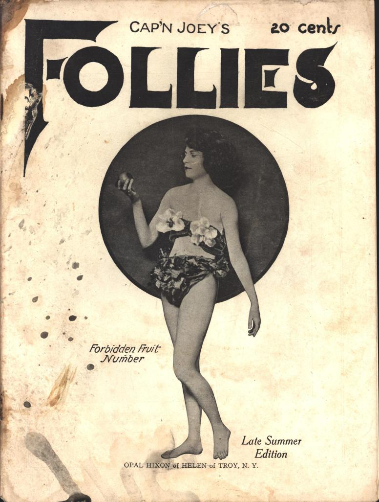 Cap'n Joey's Follies 1923  late summer vol 2 no 3