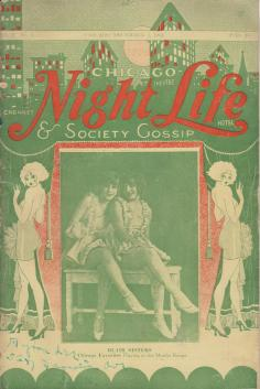 Chicago Night Life and Society Gossip vol 1 no 6 December 1 1924