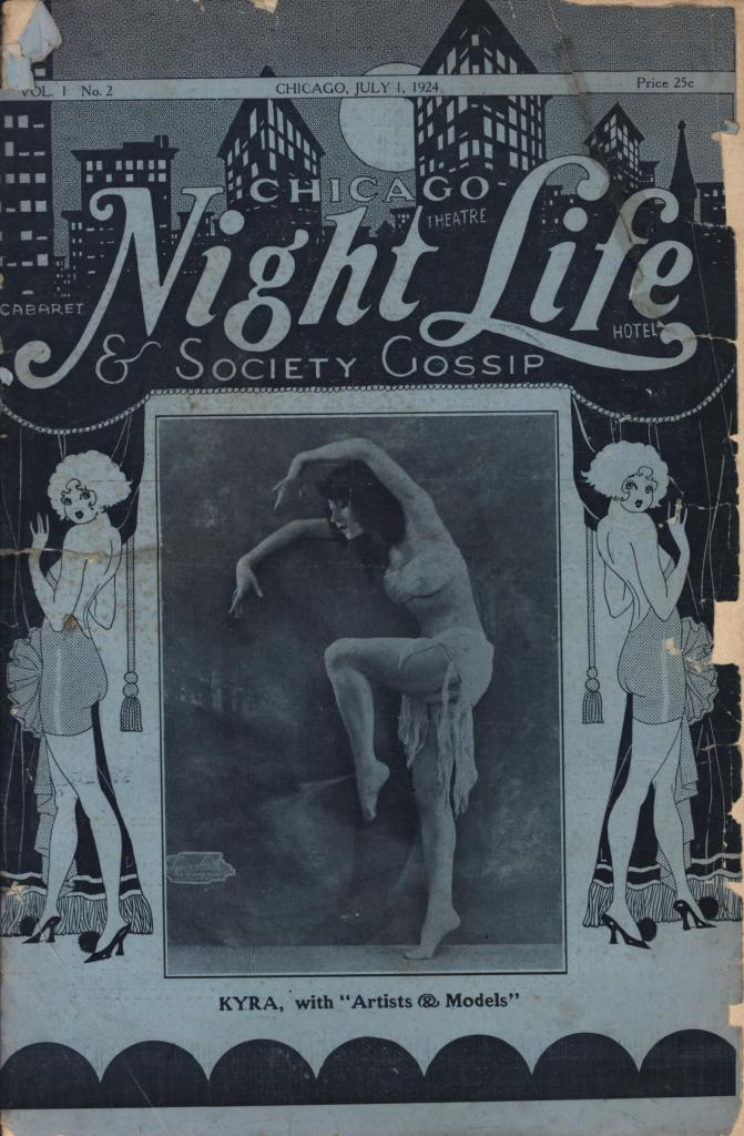 Chicago Night Life & Society Gossip 1924 07 01