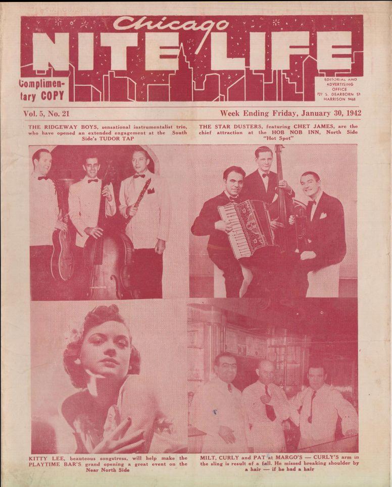 Chicago Nite Life 1942 January 30 vol 5 no 21