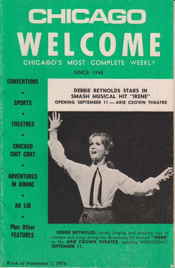 Chicago Welcome September 7 1974 vol 28 no 36