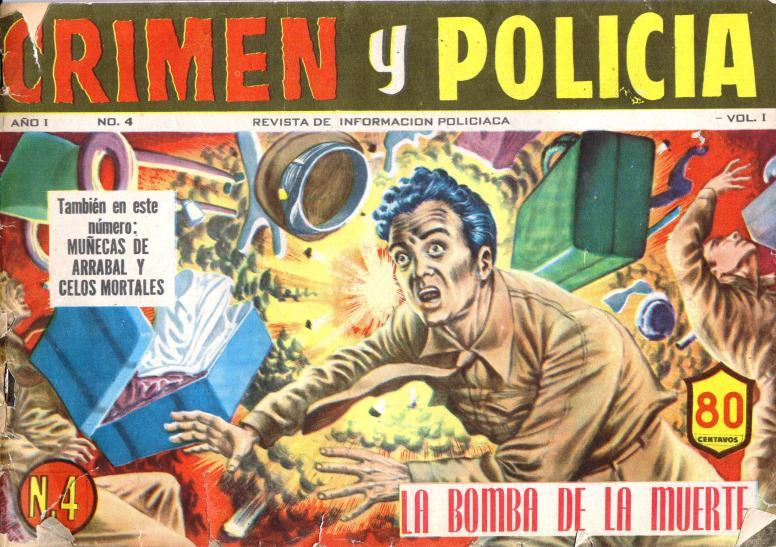 Crimen y Policia vol 1 no 4 June 27 1953 fc