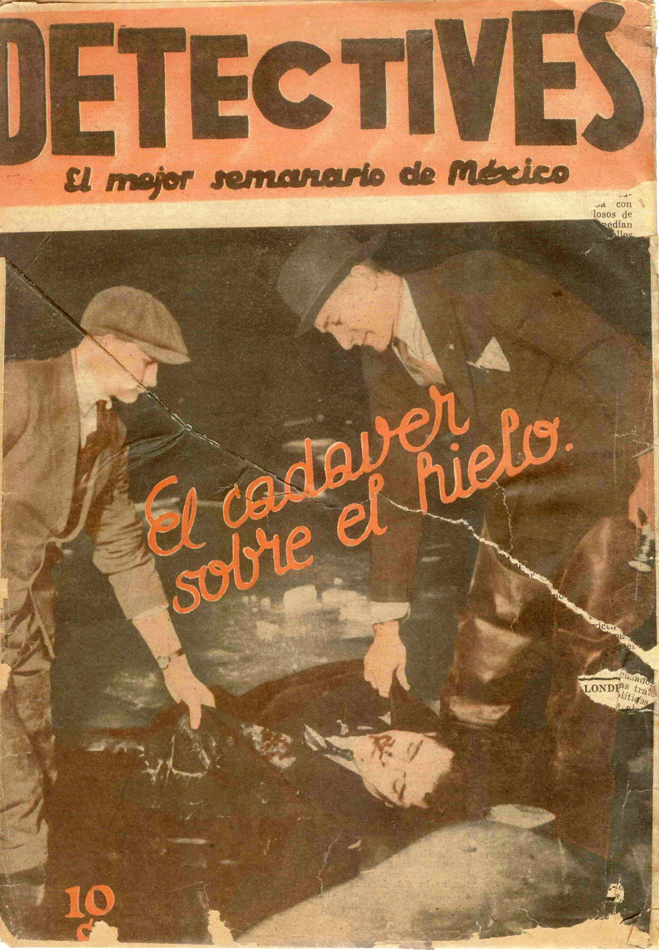 Mexico Detectives Magazine 1930s 1960s