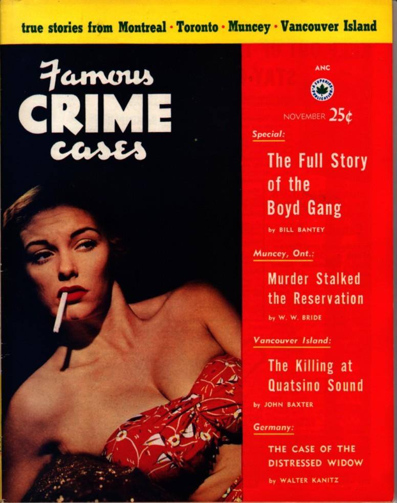 Famous Crime Cases 1953 11