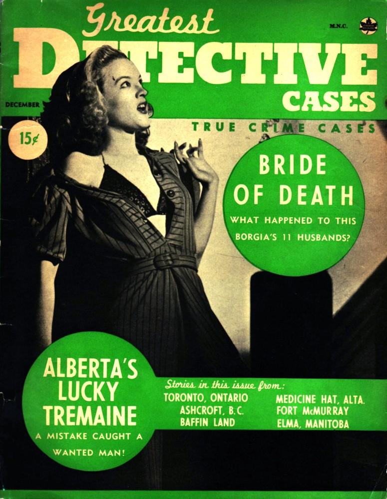 Greatest Detective Cases 1941 December