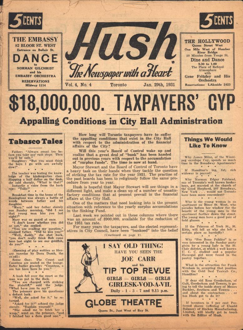 Hush 1931 01 29