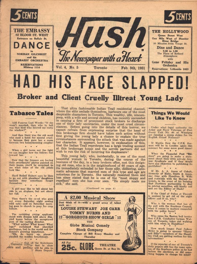 Hush 1931 02 05