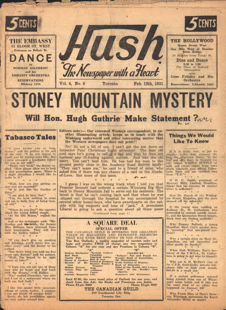 Hush 1931 02 12