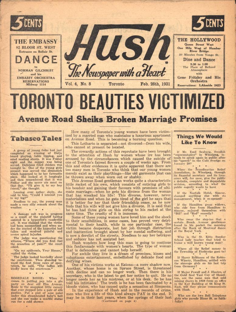 Hush 1931 02 26