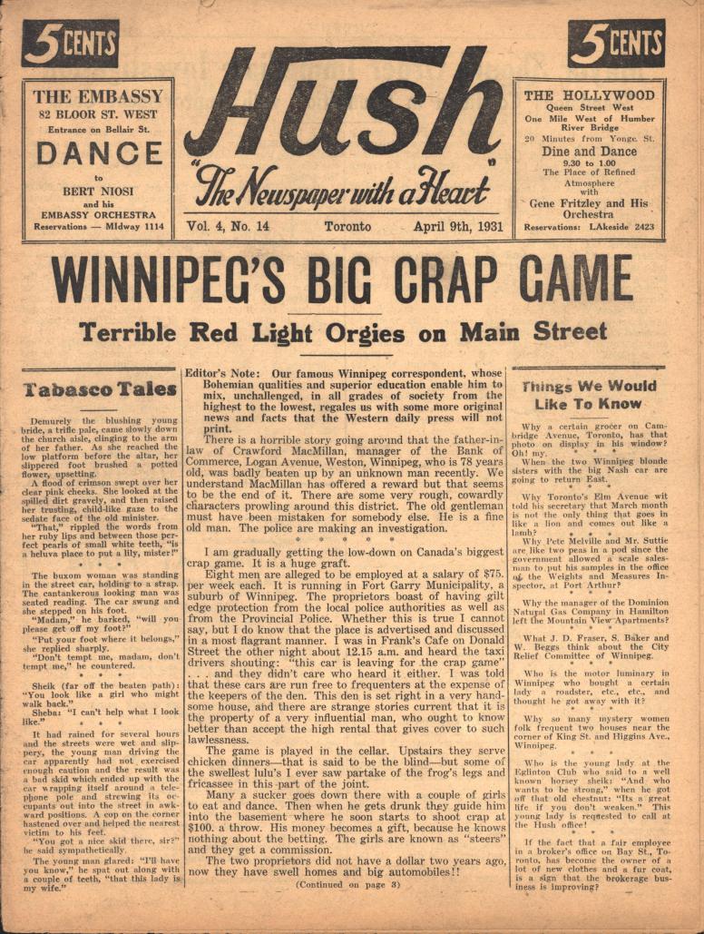 Hush 1931 04 09