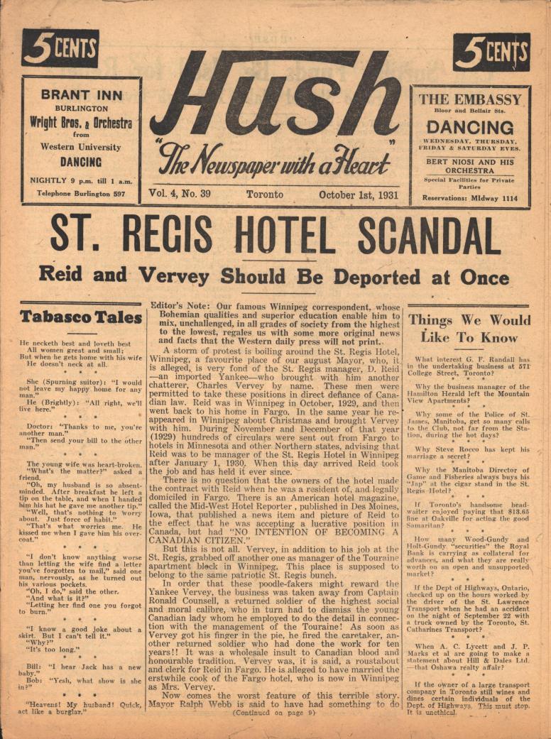 Hush 1931 10 01