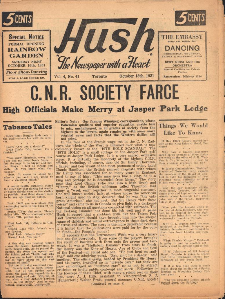 Hush 1931 10 15