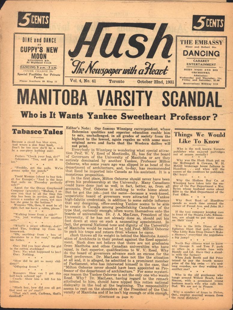 Hush 1931 10 22