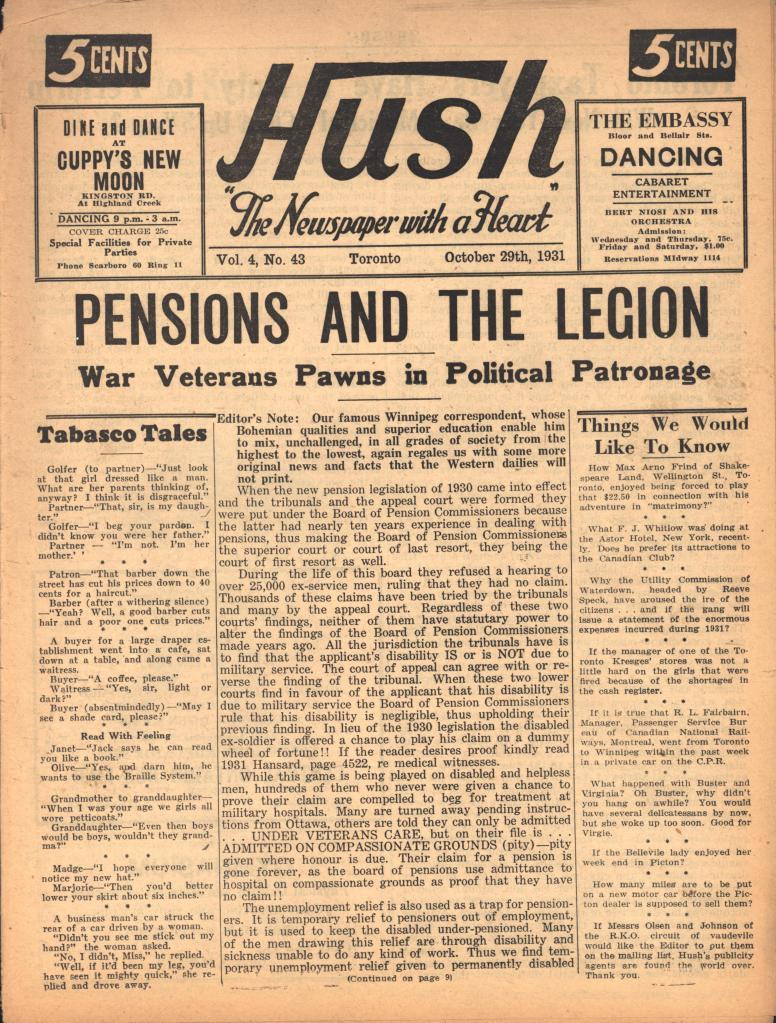 Hush 1931 10 29