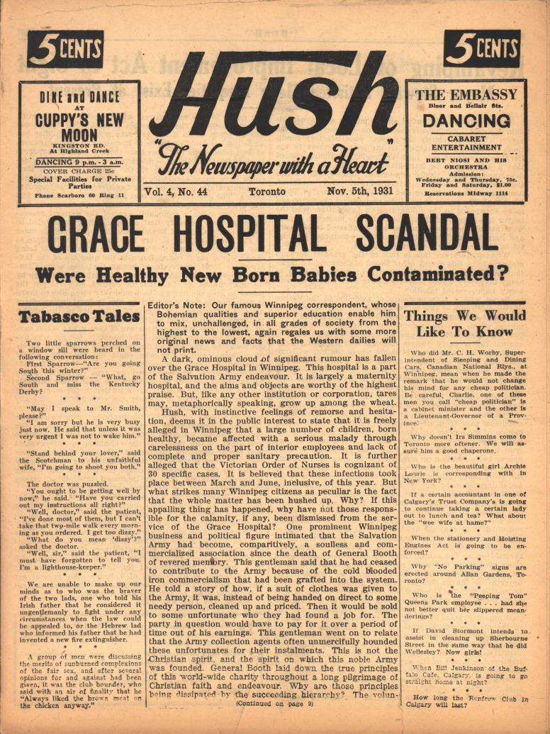 Hush 1931 11 05