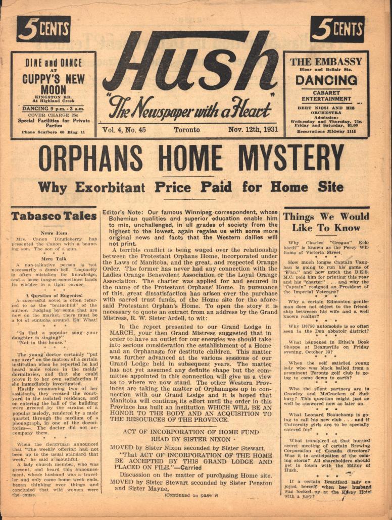 Hush 1931 11 12