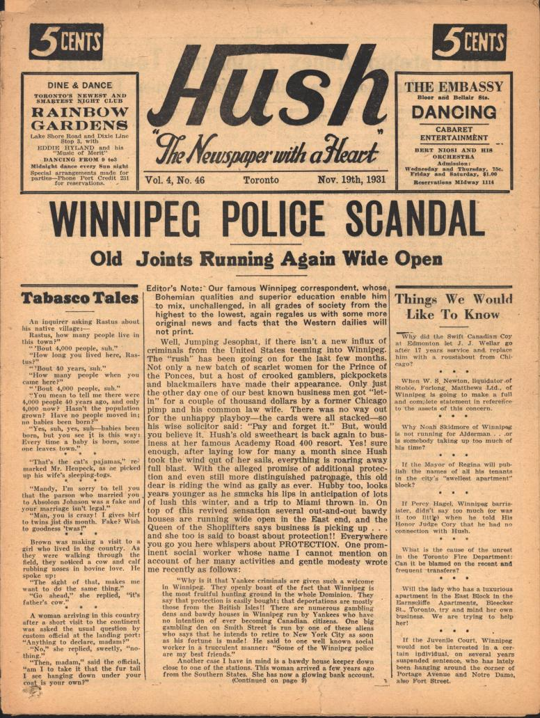 Hush 1931 11 19