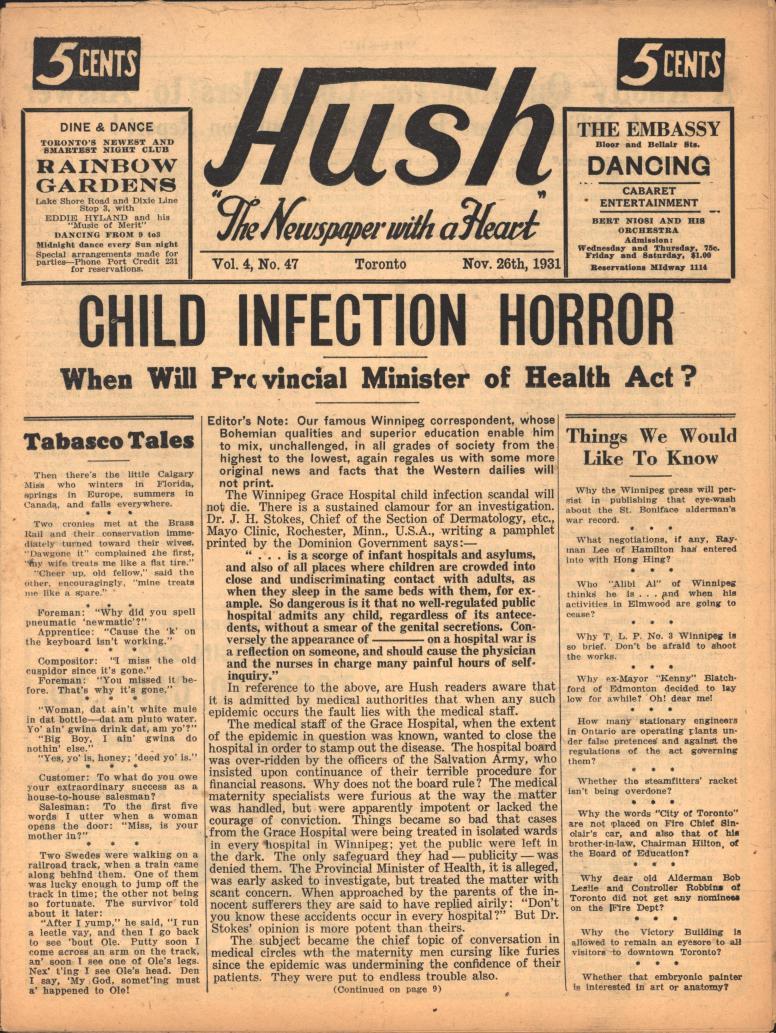 Hush 1931 11 26