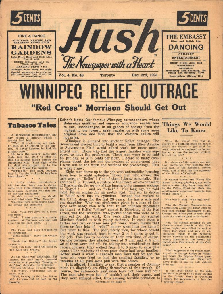 Hush 1931 12 03