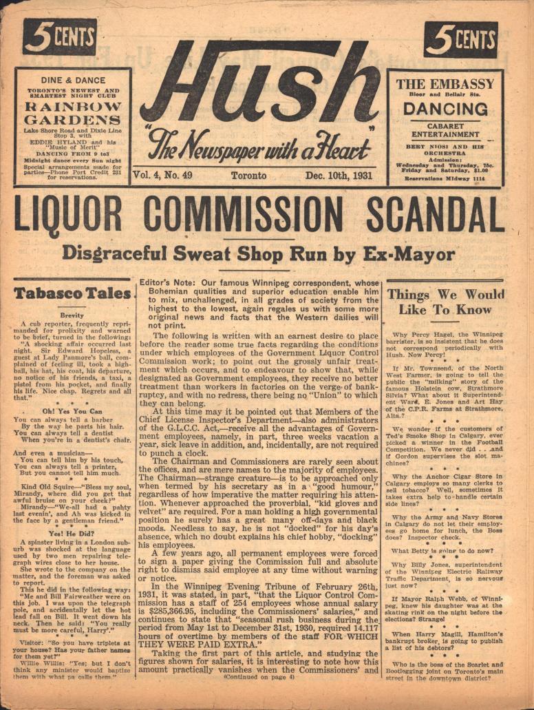 Hush 1931 12 10