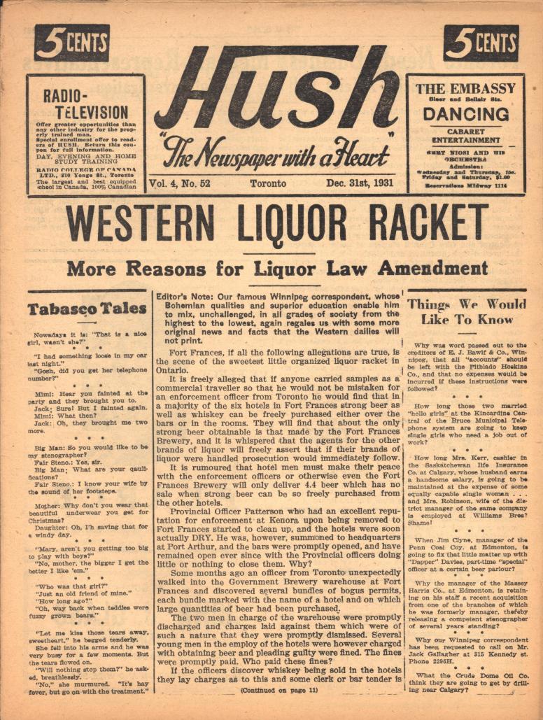 Hush 1931 12 31