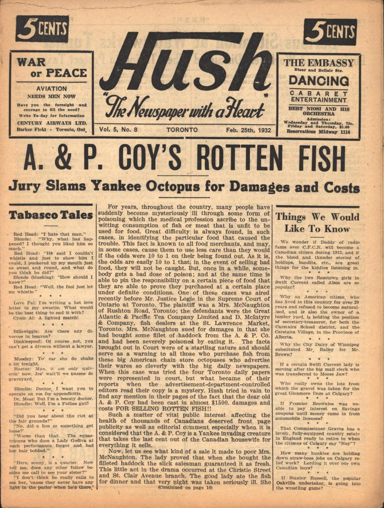 Hush 1932 02 25