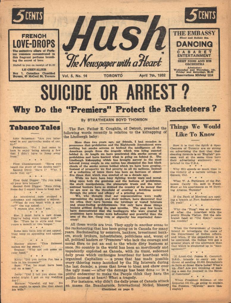Hush 1932 04 07