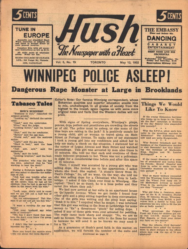Hush 1932 05 12