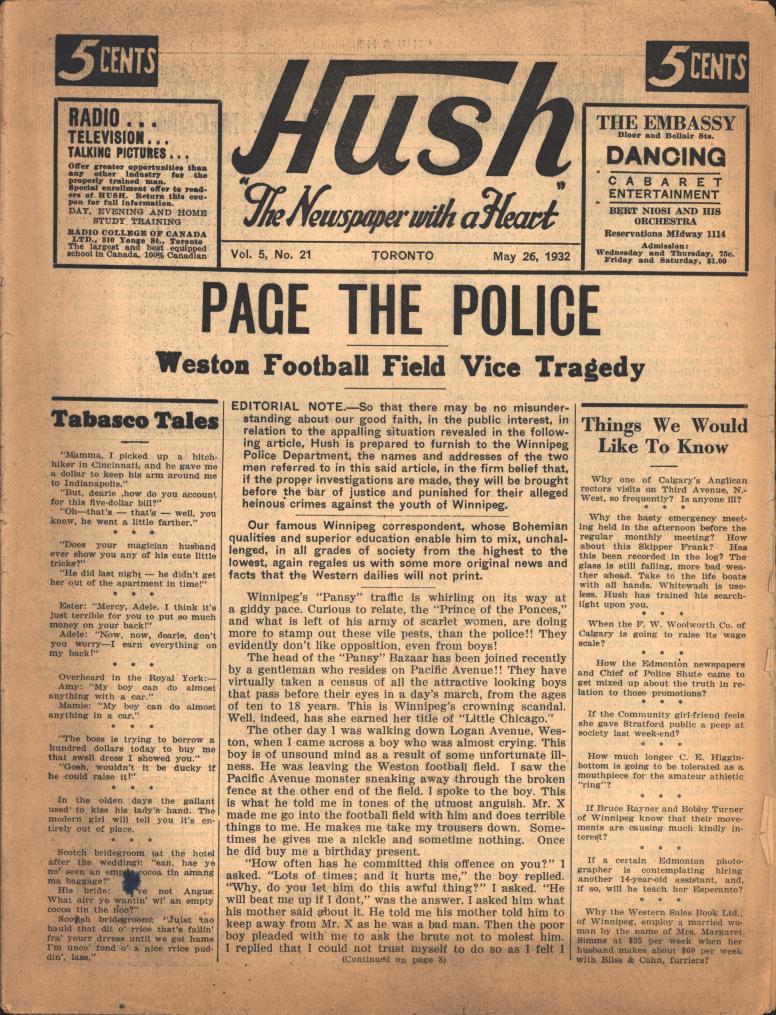 Hush 1932 05 26