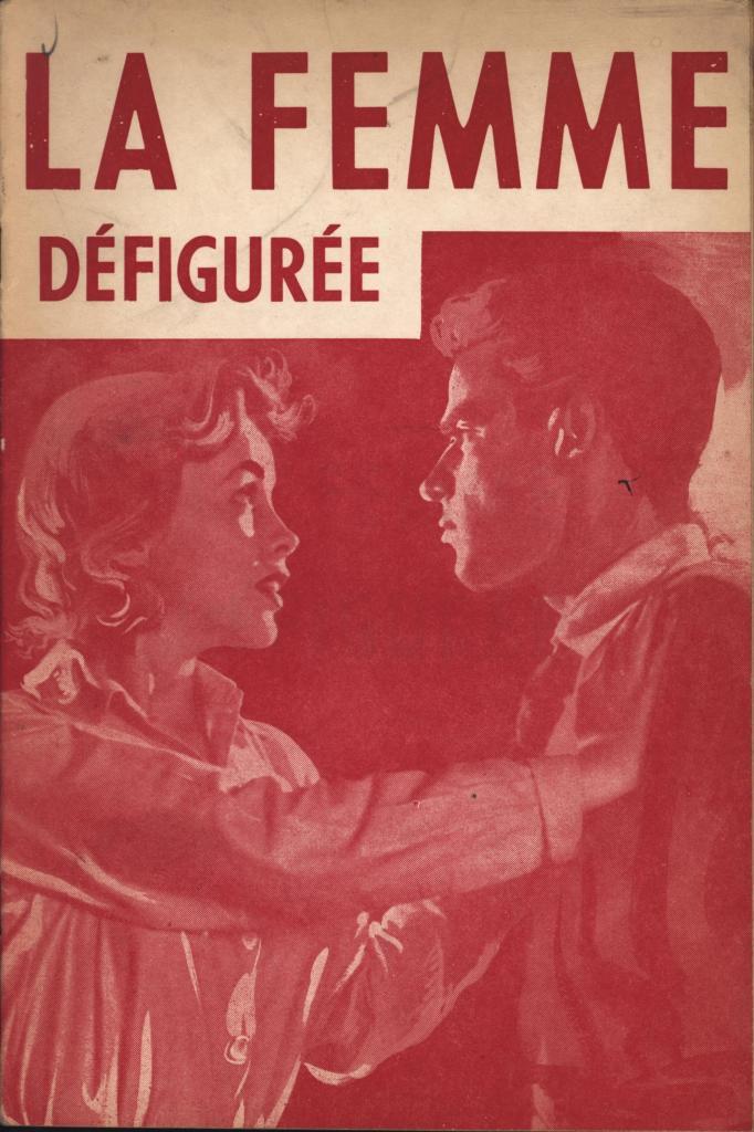 La Femme Défigurée Editions Simonnel no date
