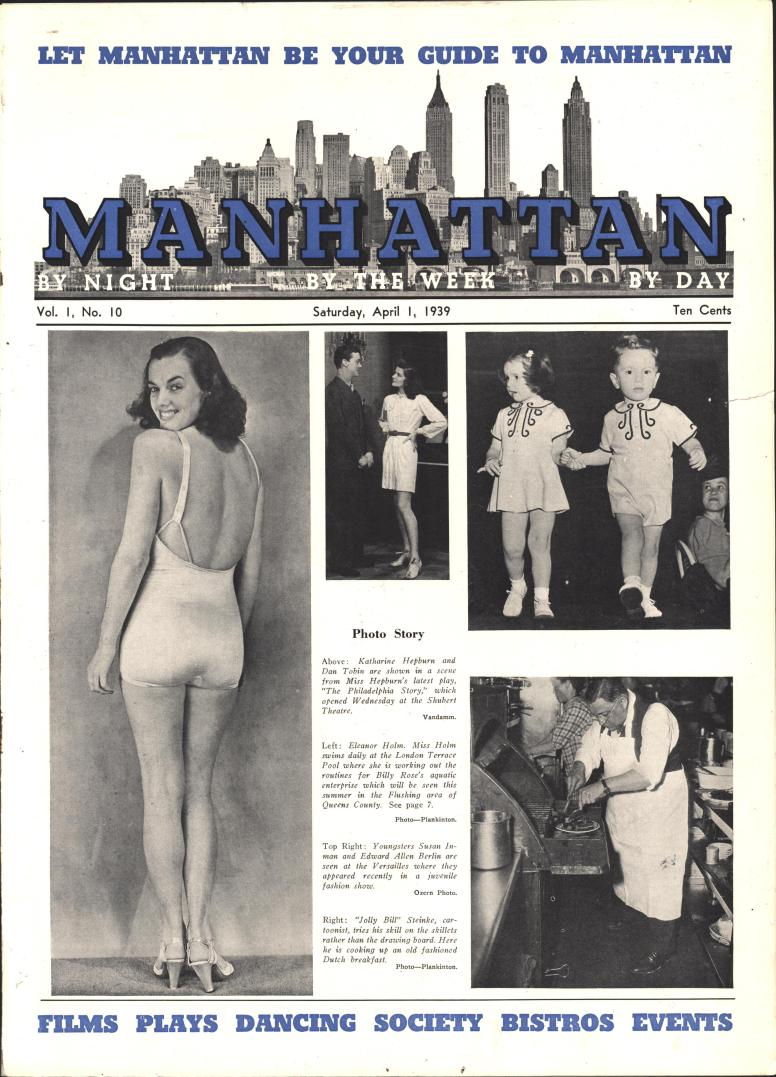 Manhattan vol 1 no 10, April 1 1939