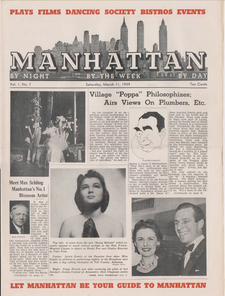 Manhattan vol 1 no o7 March 11 1939