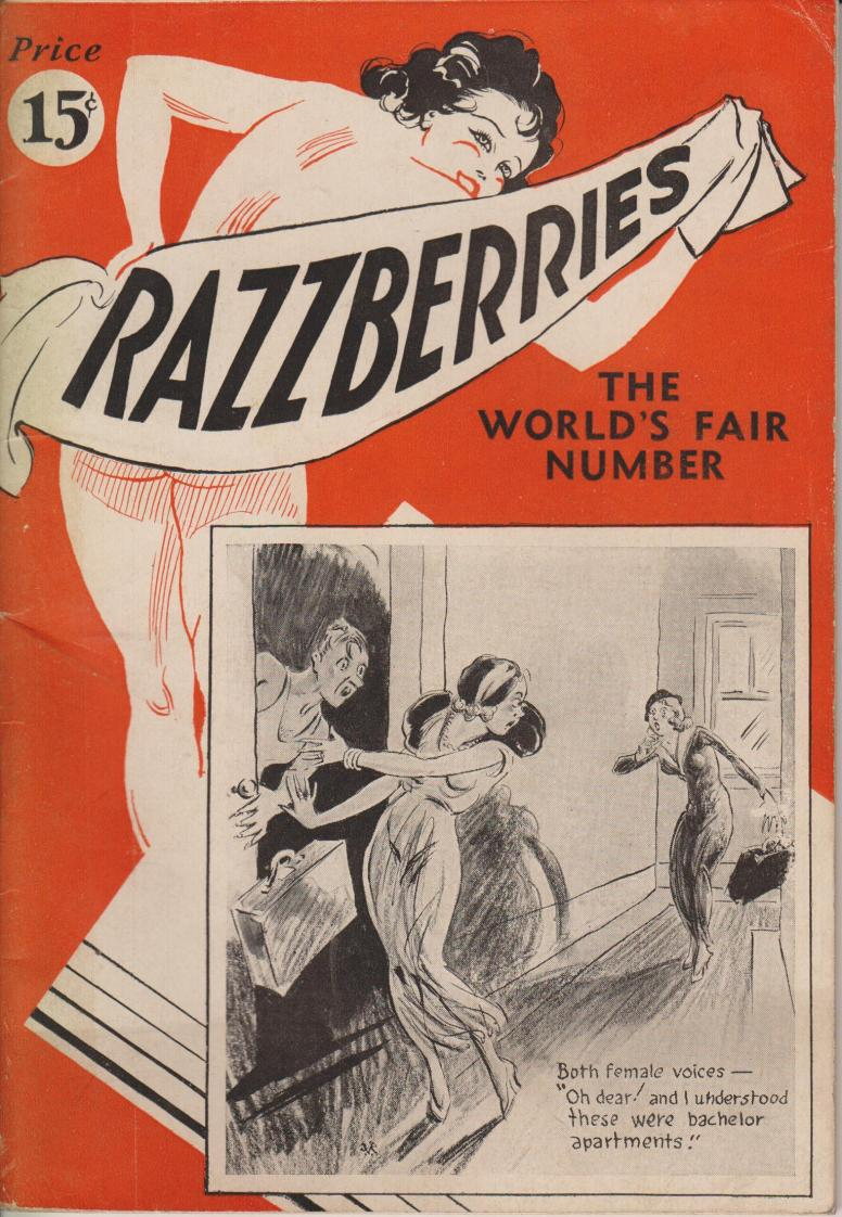 Razzberries 1933 no number  hicago Worlds Fair no