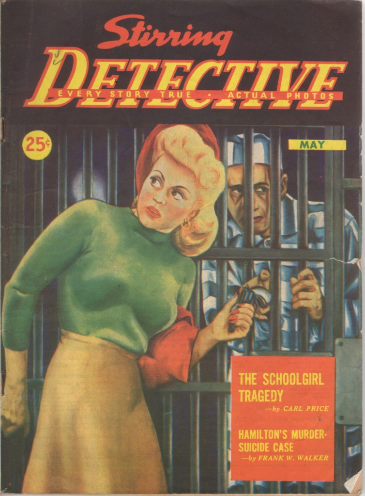 Stirring Detective 1945 05