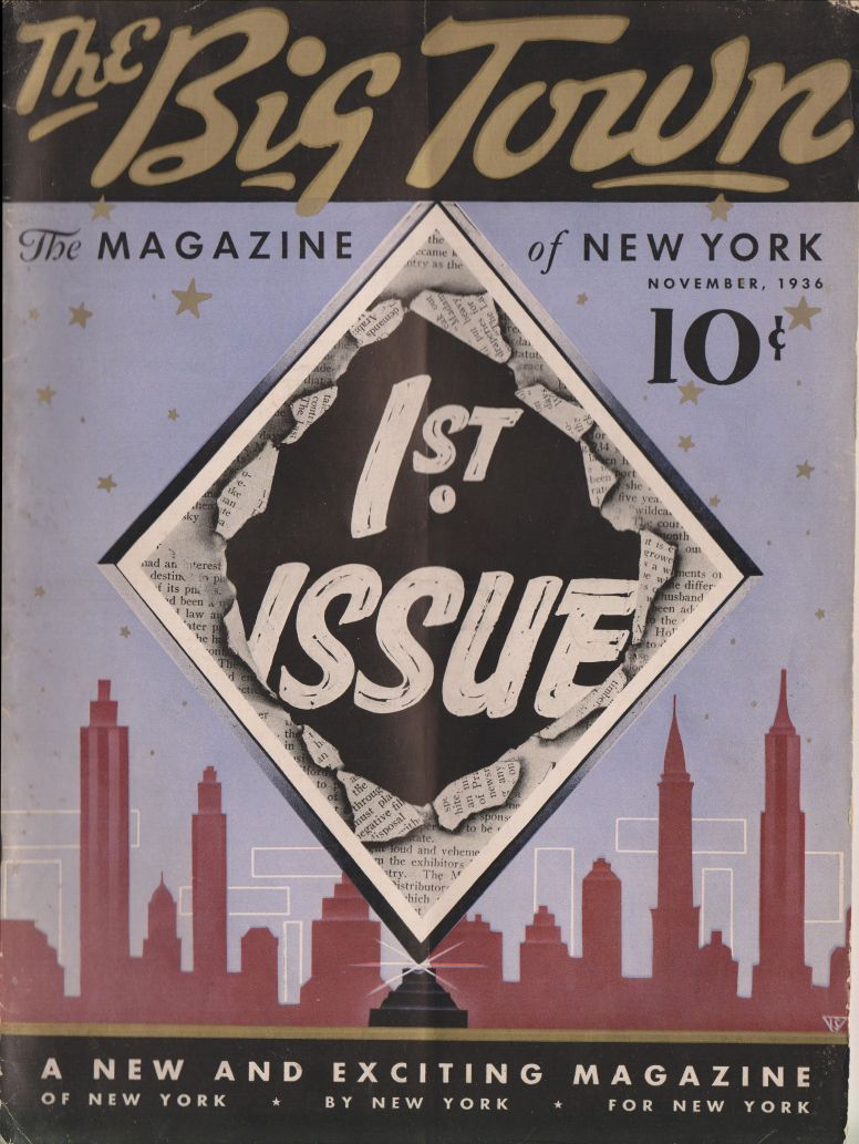 The Big Town no 1 November 1936