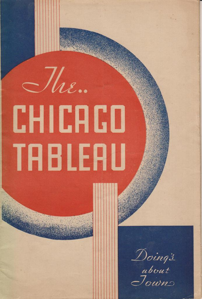 The Chicago Tableau no date no number