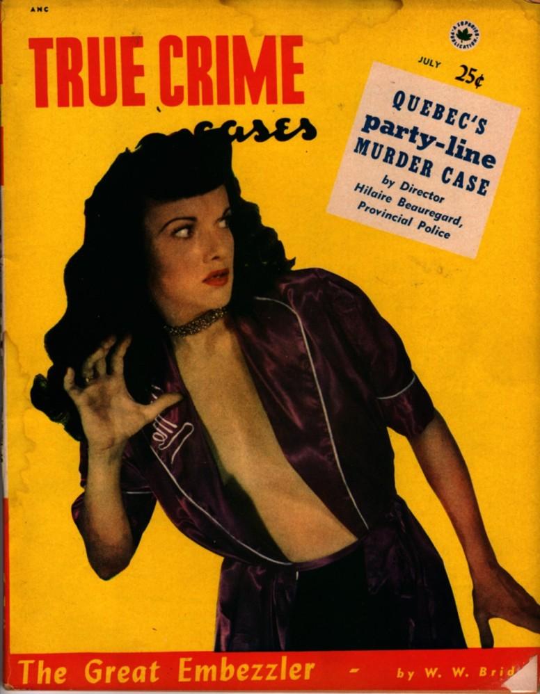 True Crime Cases 1952 07