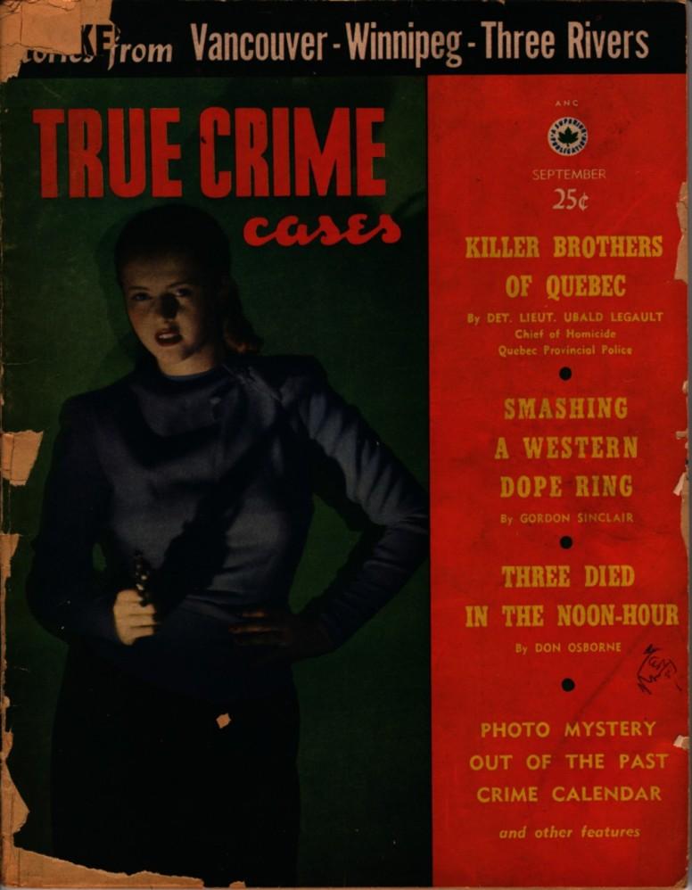 True Crime Cases 1952 09