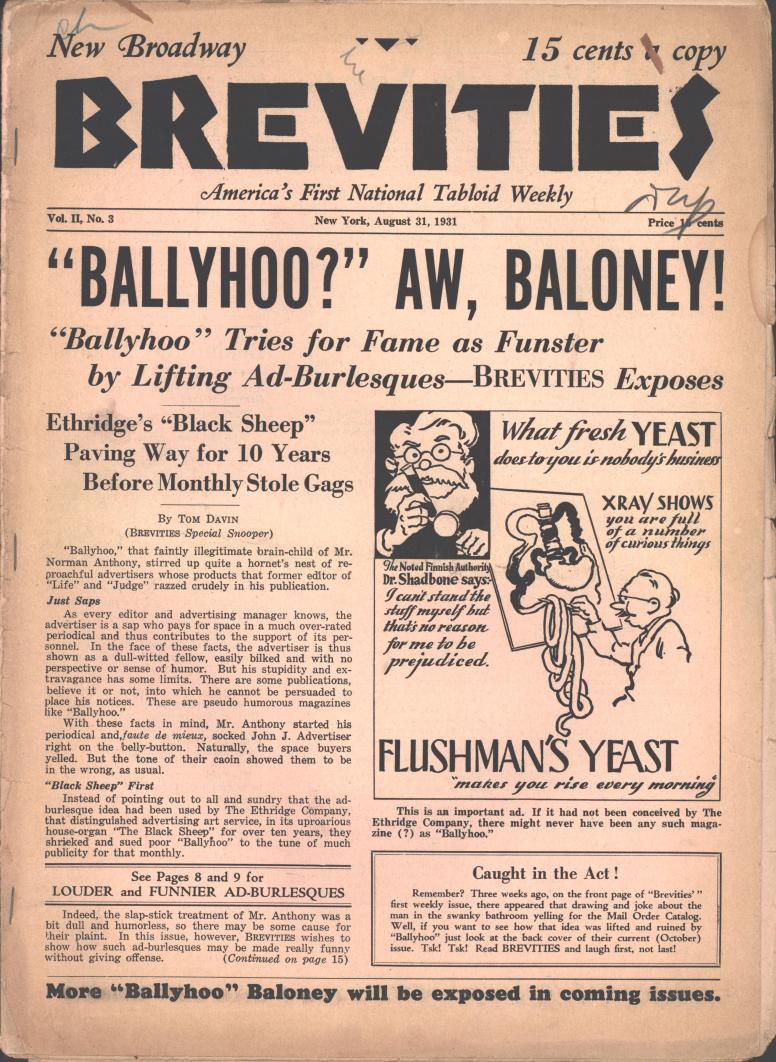 Brevities 1931 08 31