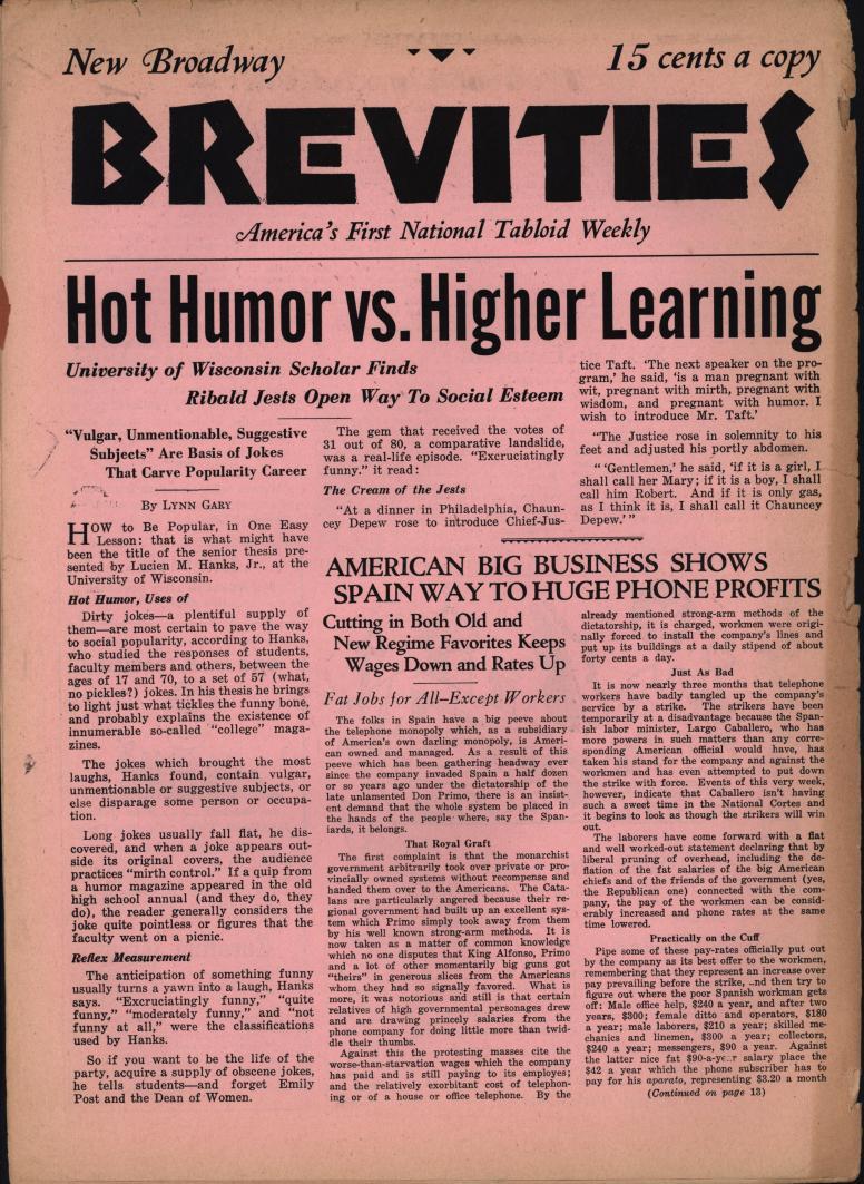 Brevities 1931 10 26 bc