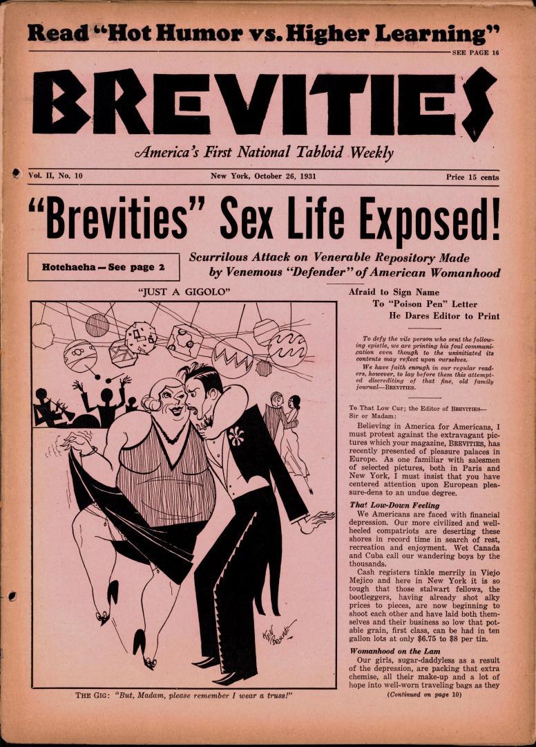 Brevities 1931 10 26