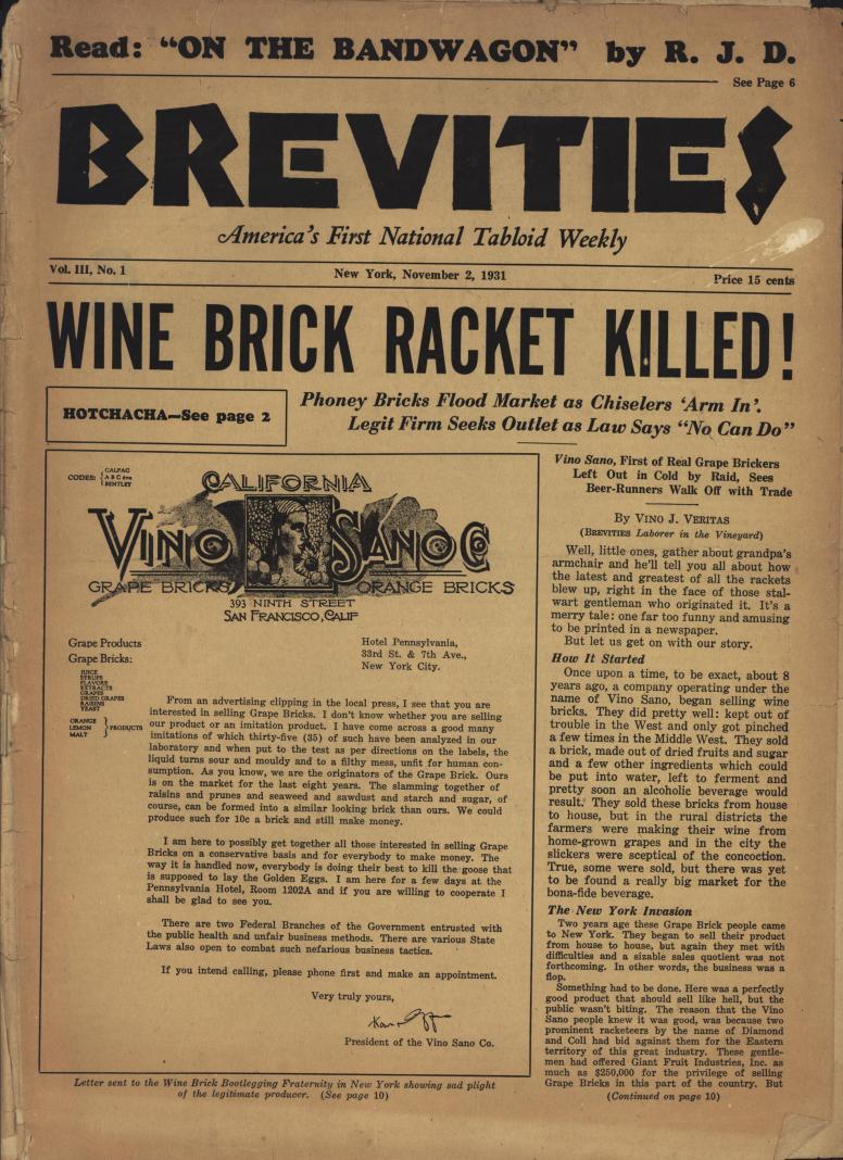 Brevities 1931 11 02