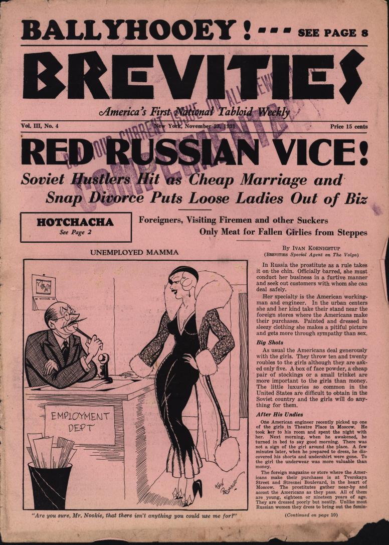 Brevities 1931 11 23 bc