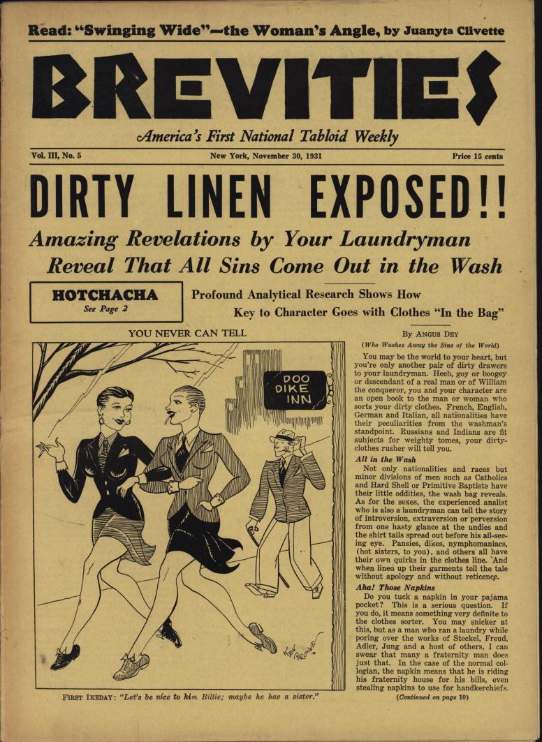 Brevities 1931 11 30