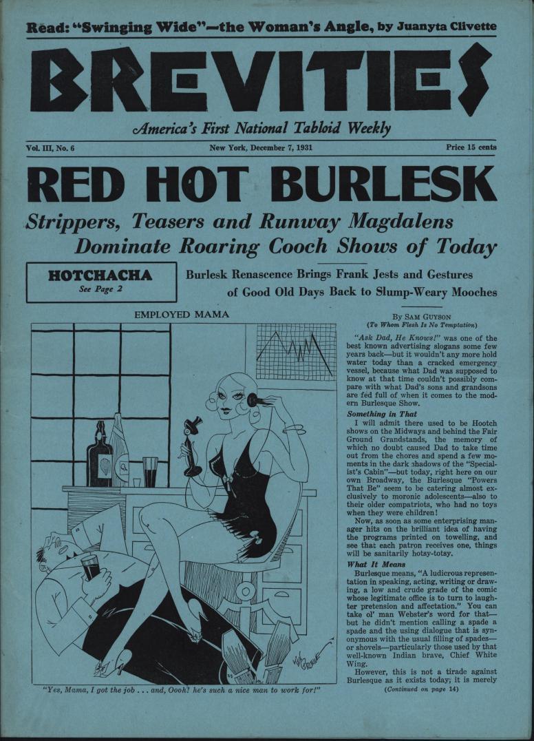 Brevities 1931 12 07